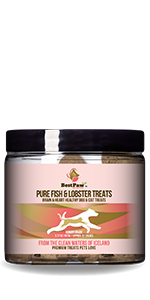 Fish and Lobster Treats for Dogs and Cats