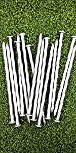 ONE STOP OUTDOOR, TURF NAIL, SPIRAL, TIMBER SPIKE