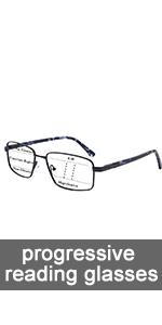blue light blocking progressive reading glasses for men