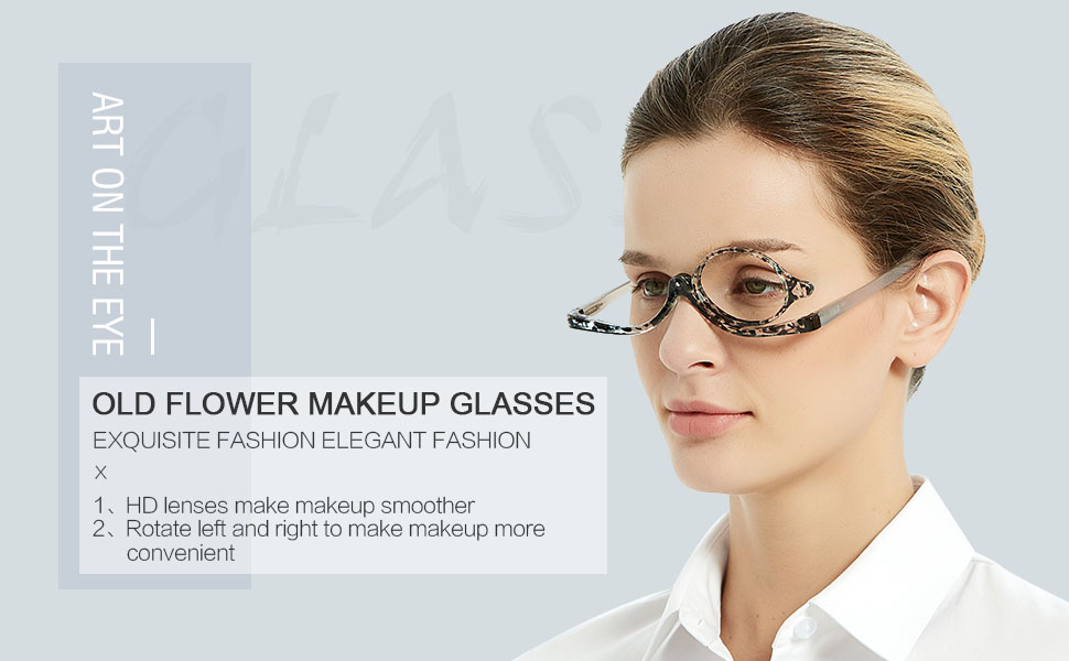 makeup reading glasses Folding Cosmetic Womens Readers 2.0 2.5 3.0 3.5 4.0