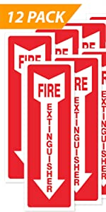 Fire Extinguisher [12-Pack]