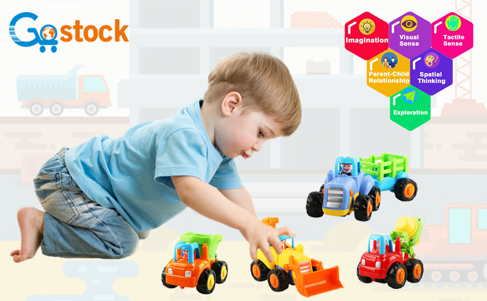 Toys for 1-3 Years Old Baby Girls and Boys