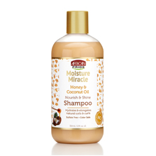 african pride moisture miracle shampoo honey and coconut