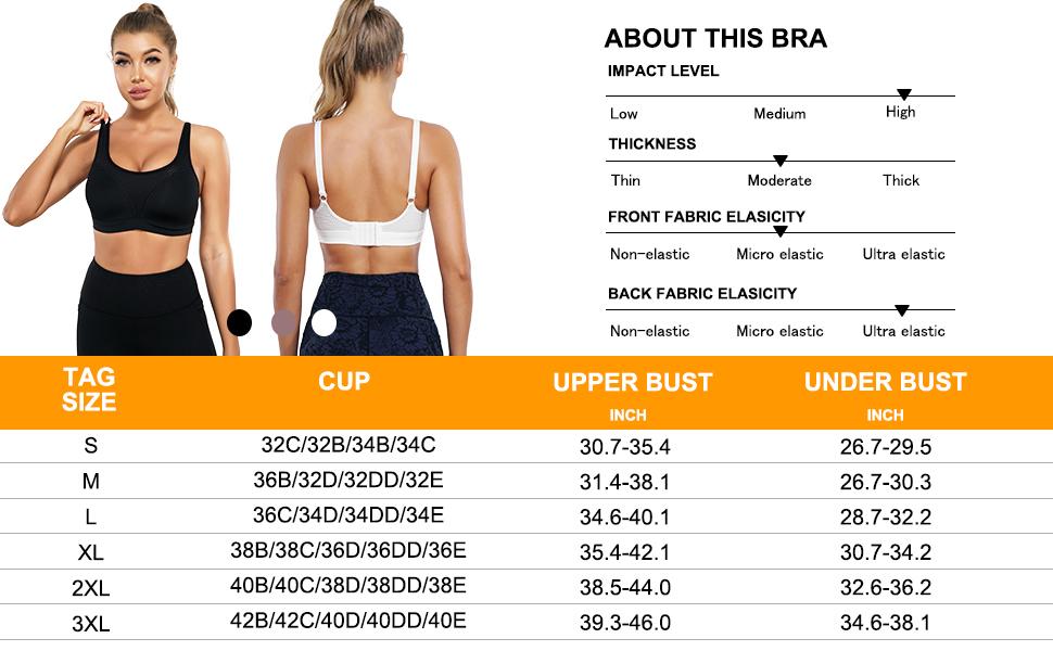 CYDREAM high impact support sport bra mesh fabric - 6