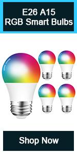 4Pack/DOGAIN A15 Smart Bulbs