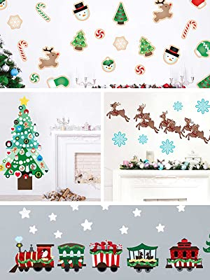 holiday,printed, wall decal, rooms, chromantics