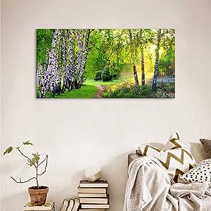 nature canvas wall art