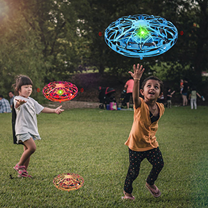 Flying Toys for Kids Mini UFO Drone Hand Operated Drones with 5 Sensors and 2 Speed,Flying Ball