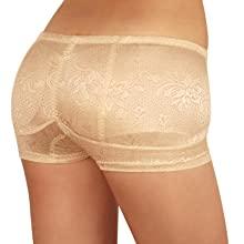 trans-gender cross-dresser push-up enlarge shaper padded hip shape-wear fake pants under-wear sexy