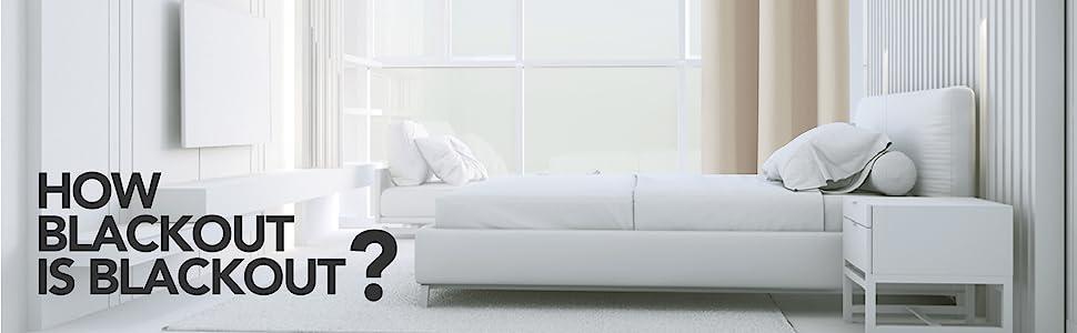 living room blackout beige curtains