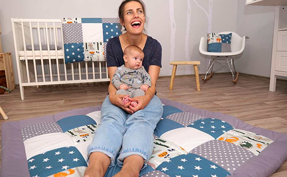 ullenboom baby essentials and accessories playmat baby blanket pillowcover