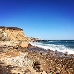 Block Island's Mohegan Bluffs