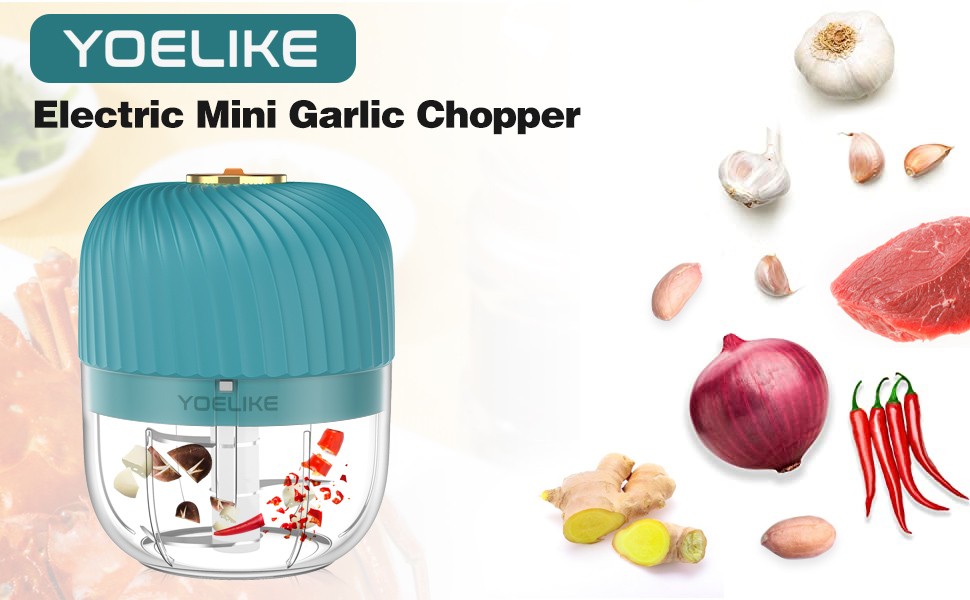 New high-power garlic chopper