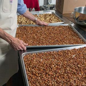 Fresh Almonds Roasted