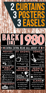 1980 1979 40th Birthday Posters Rose Gold for women for her back in 1980 count down cheers to 40