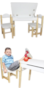 table chairs for kids toddler age 3 4 5 6 7 years old learning drawing painting store compartment