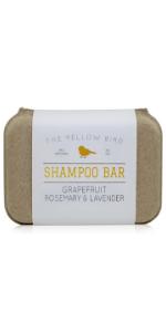 grapefruit lavender rosemary peppermint shampoo bar