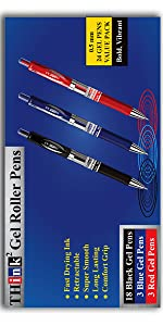 Black Gel Pens