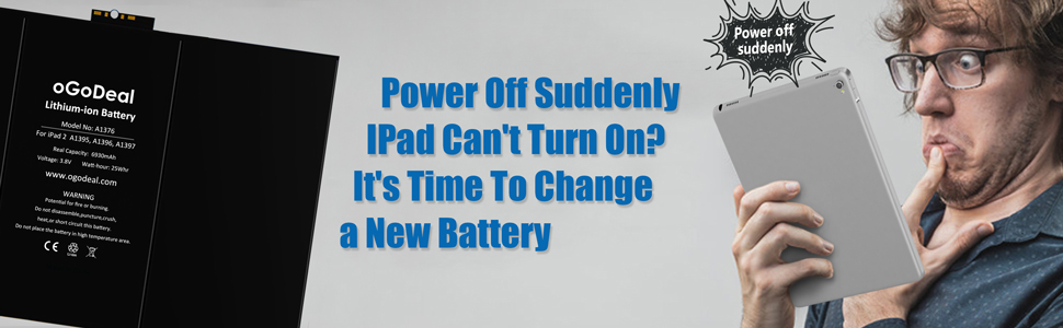 iPad 2 battery replacement kit
