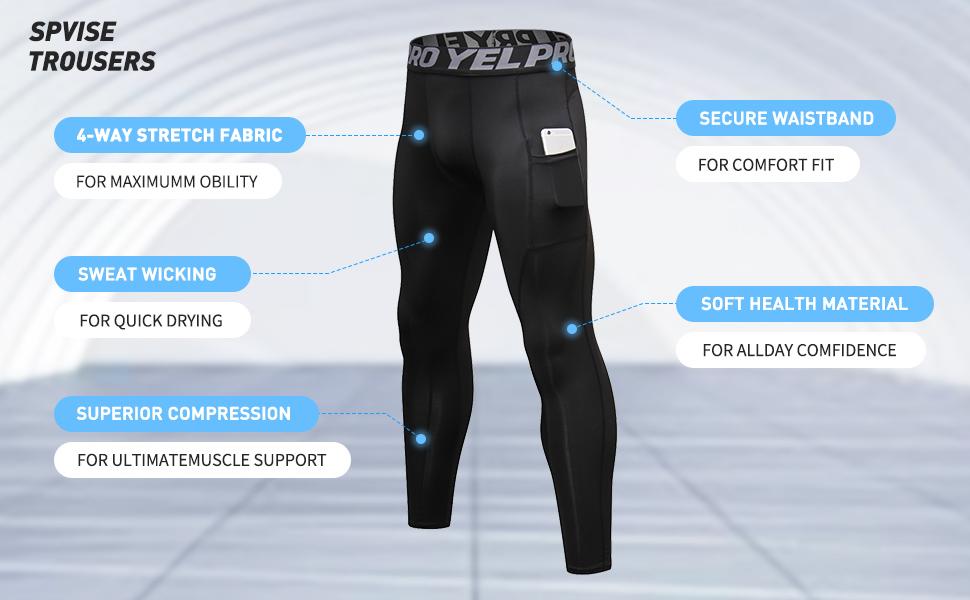 compression leggings men