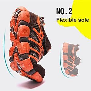 Flexible soles