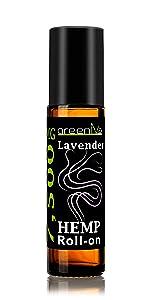 7,500mg Lavender Roll-On Hemp Essential Oil Blend