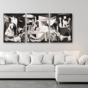 Pablo Picasso Guernica 3 Panels