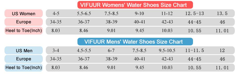 women men water shoes