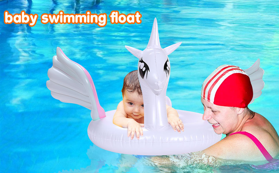 Unicorn baby pool float