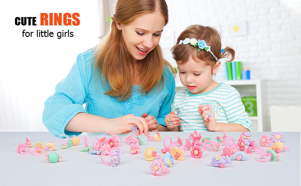 cute rings for little girls