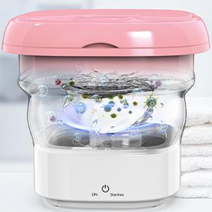 Portable Ultrasonic Washing Machine