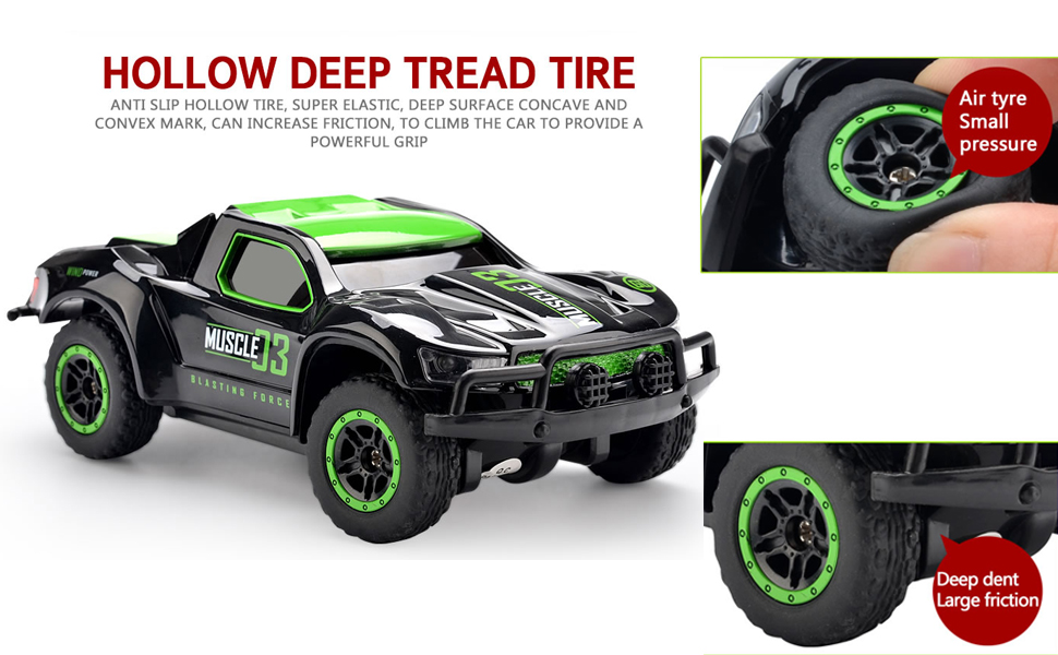 Hollow Deep Tread Tire