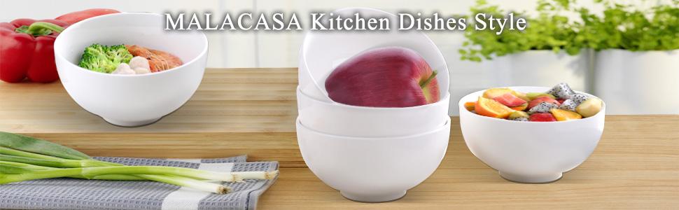 bowls cereal soup salad desset ice cream bowls set porcelain white bowls microwave safe christmas