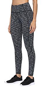 Dyed Yoga Pants