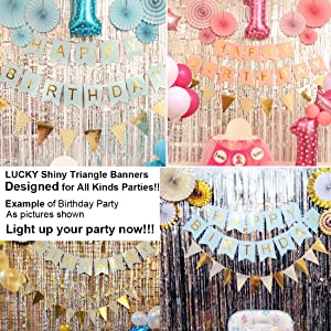 Cute Gold Party Decorations