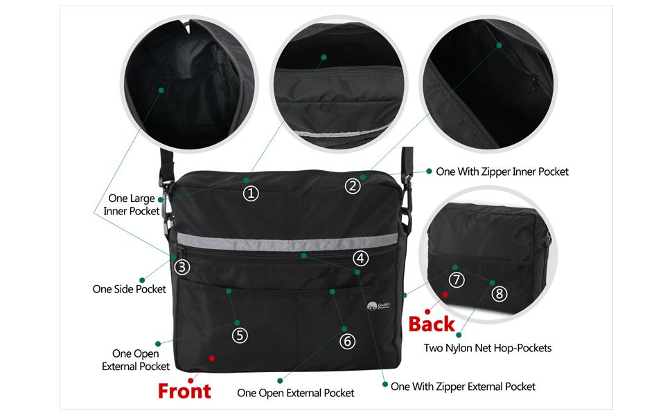 rollator bag