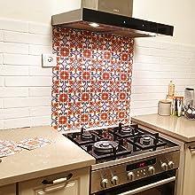 Kitchen decals tile stickers