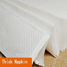 Thick napkin