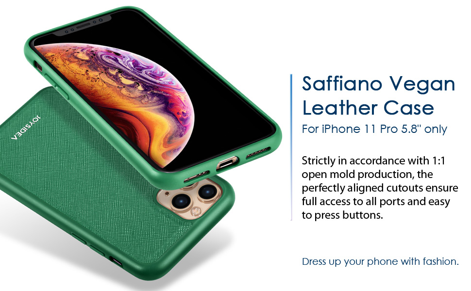 Faux Leather Case for iPhone 11 pro