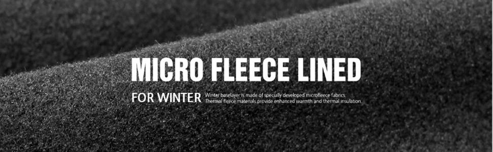 fleece lined thermal set