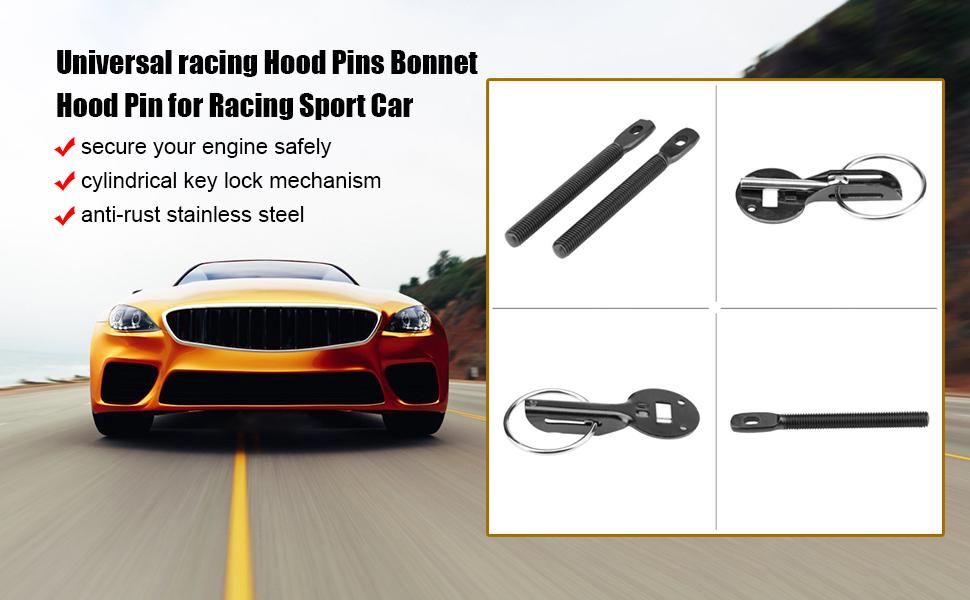 Racing Hood Pins