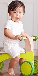 organic bamboo simple infant baby tee t-shirt little boy girl unisex sustainable