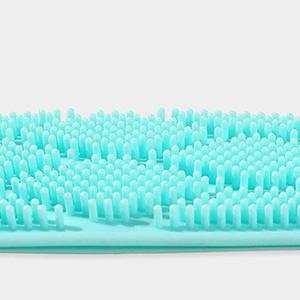 silicone body brush