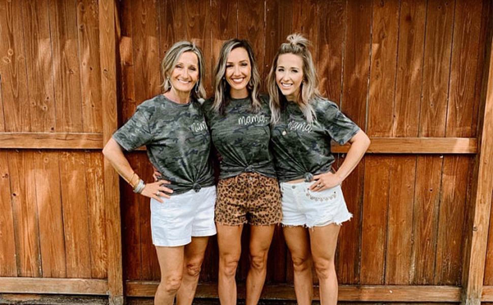 Mama Camouflage T-Shirt
