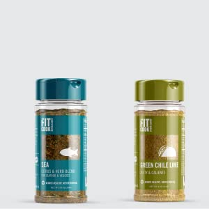 green Chile lime seasoning seafood spices zesty cool ranch fit cook Kevin Curry fitmencook meal prep
