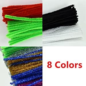 Chenille Stems Colors