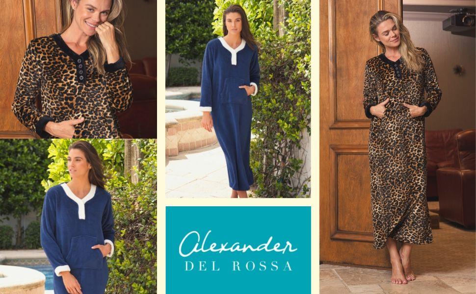womens fleece nightgown