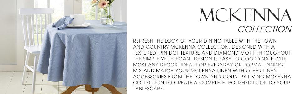 blue formal tablecloth, table cloth, blue tablecloth, diamond cloth, easter, farmhouse