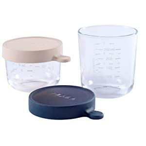 glass containers, babycook, beaba, baby food storage containers, puree containers, baby food