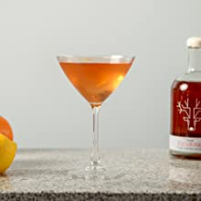 Escuminac maple syrup cocktail